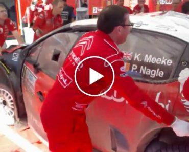 Mecânicos Da Citroën Repararam Carro Em 3 Horas Após Capotar 14 Vezes 6