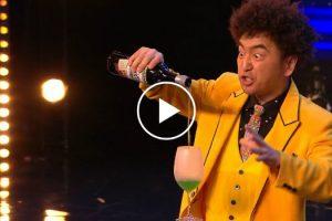 Maluco Mágico Japonês Não Teme o Perigo e Deixa Todos Atordoados Em Programa De Talentos 6