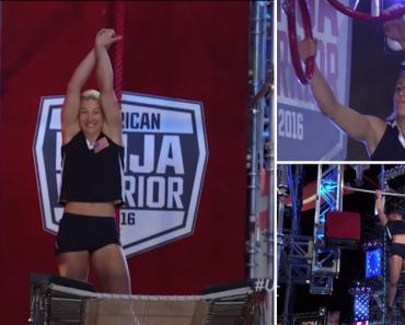"Jessie Graff Volta a Surpreender Ao Tornar-se a Primeira Mulher a Terminar o ""Stage 2"" Do American Ninja Warrior 1"
