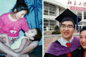 """Mãe Recusou-se a Desistir Do Filho Que Nasceu Com """"Baixa Inteligência"""". 29 Anos Depois Foi Aceite Em Harvard 9"""