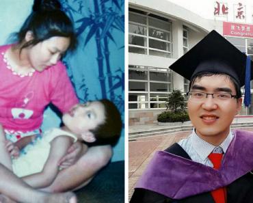 """Mãe Recusou-se a Desistir Do Filho Que Nasceu Com """"Baixa Inteligência"""". 29 Anos Depois Foi Aceite Em Harvard 3"""