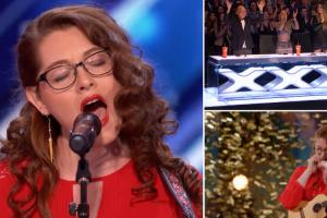 Cantora Surda Conquista Botão Dourado e Deslumbra Em Programa De Talentos 10