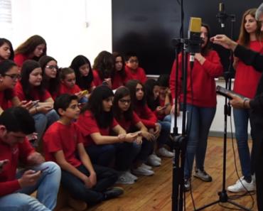 "Coro Juvenil De Viseu Faz Surpreendente Versão A Cappella De ""Amar Pelos Dois"" 6"