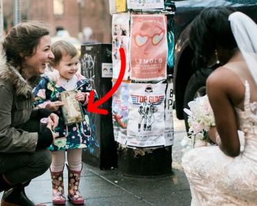 Menina Confunde Noiva Com Princesa Da Vida Real e Fica Encantada 3