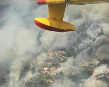 Aviões Espanhóis Em Combate Às Chamas Em Portugal Mostram Cenário Devastador 9