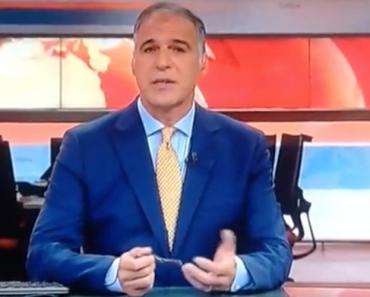 Rodrigo Guedes De Carvalho Cumpre No Jornal Da Noite Da SIC Promessa Feita a Criança 5