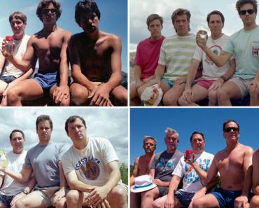 Grupo De Amigos Tira a Mesma Foto a Cada Cinco Anos Desde 1982 5