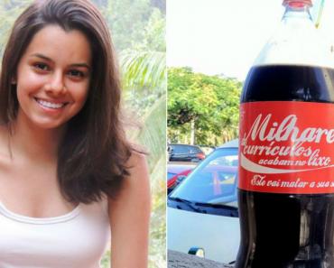 Jovem Estampa Currículo Em Garrafa De Coca-Cola e é Chamada Para Entrevista 1