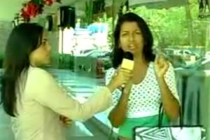 """Repórter Apanha Maior """"Galo"""" Da Vida Em Direto 7"""