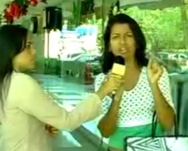 """Repórter Apanha Maior """"Galo"""" Da Vida Em Direto 6"""