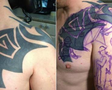 Transformação De Tatuagem Correu Tão Bem Que Estúdio Só Tem Vagas Para 2018 7