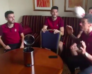 Vídeo Partilhado Pelos Jogadores Mostra o Talento Da Seleção Portuguesa 7