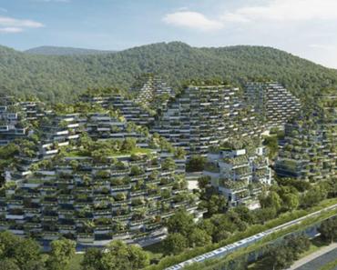 """China Constrói a Primeira """"Cidade Floresta"""" 100% Sustentável Do Mundo 7"""