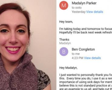 Mulher Pede Folga Para Cuidar Da Saúde Mental e Resposta Do Chefe Torna-se Viral 3