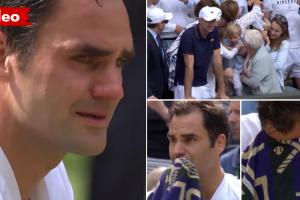 Roger Federer Chorou De Emoção Ao Ver Os Filhos Na Bancada Após Conquistar Wimbledon 8