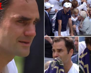 Roger Federer Chorou De Emoção Ao Ver Os Filhos Na Bancada Após Conquistar Wimbledon 6