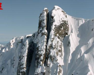 A Mais Louca Descida Em Ski 9
