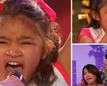 Admirável Voz De Menina De 9 Anos Impressiona Jurados e Conquista Botão Dourado 3