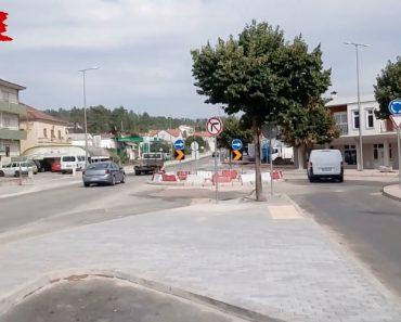 Condutores Portugueses Não Respeitam a Nova Rotunda Da Sertã 4