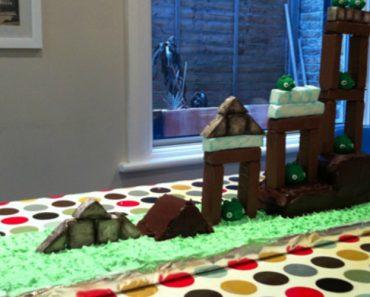 O Mais Extraordinário Bolo De Aniversário Para Crianças, Baseado No Jogo Angry Birds 1
