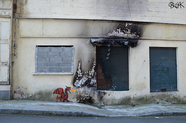 25 Atos De Vandalismo Que Foram Demasiado Bem Conseguidos Para Serem Condenáveis 18