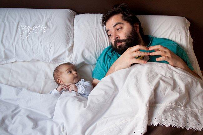 25 Imagens Que Mostram Como a Paternidade é Algo Mágico Na Vida Dos Homens 3