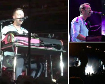 """Coldplay Transformam """"Crawling"""" Dos Linkin Park Numa Balada Em Homenagem a Chester Bennington 8"""