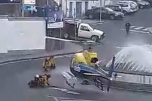 Vídeo Mostra Helicóptero De Combate Aos Fogos Em Rotunda Na Covilhã 10