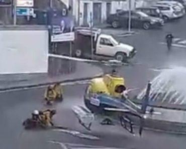 Vídeo Mostra Helicóptero De Combate Aos Fogos Em Rotunda Na Covilhã 8