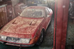 Ferrari Único No Mundo Esteve Escondido 40 Anos. Agora, Será Leiloado 10