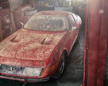 Ferrari Único No Mundo Esteve Escondido 40 Anos. Agora, Será Leiloado 3
