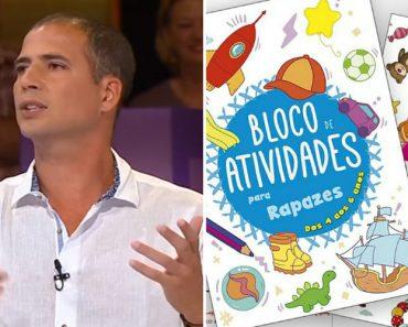 """Ricardo Araújo Pereira Analisa Os Famosos """"Blocos De Atividades"""" Da Porto Editora 8"""