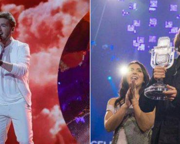 Concorrente Austríaco Da Eurovisão Homenageia Salvador Sobral Ao Cantar 'Amar Pelos Dois' 8
