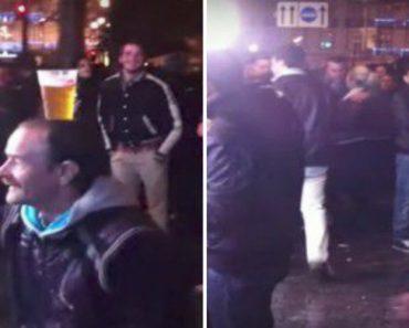 Homem Mostra Incrível Equilíbrio Ao Dançar Com Copo De Cerveja Sobre a Cabeça 2