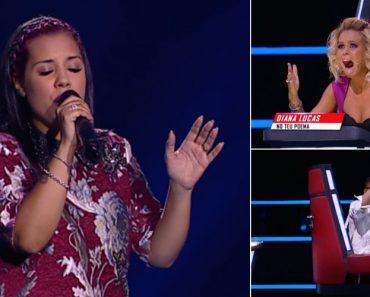 Diana Lucas Só Precisou De 5 Segundos Para Virar Todas As Cadeiras No The Voice Portugal 3