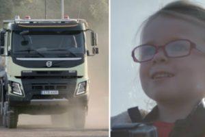 Poderá Uma Menina De 4 Anos Conduzir Um Camião De 18 Toneladas? 10