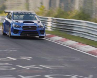 Subaru Bate o Recorde De Carro De Quatro Portas Mais Veloz Na Pista De Nurburgring 4