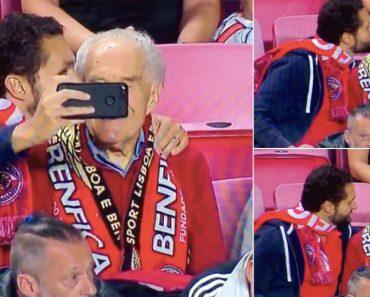 Neto Leva Avô De 95 Anos Ao Estádio Da Luz Uma Década Depois 14