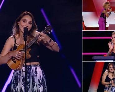 Cláudia Pascoal Arrasou No The Voice Portugal e Até Aurea Pediu Um Dueto 3