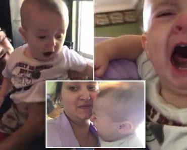 Bebé Chora Desesperadamente Sempre Que a Mãe o Tira Do Colo Do Avô 5