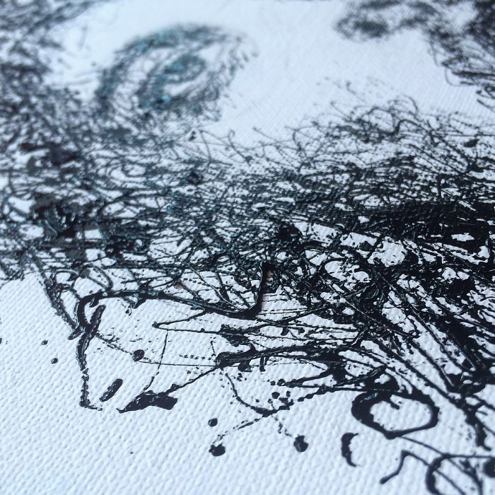 Injeção De Arte: Enfermeira Faz Pinturas Incríveis Usando Seringas 10