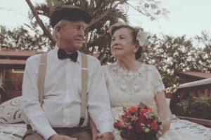 Após Sessenta Anos, Casal Teve a Oportunidade De Fotografar o Seu Casamento 6