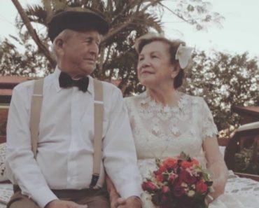 Após Sessenta Anos, Casal Teve a Oportunidade De Fotografar o Seu Casamento 7