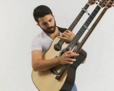 A Fantástica Versão De 'Feel Good Inc.' Tocada Numa Guitarra De 3 Braços 4