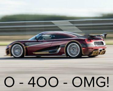 Koenigsegg Esmaga Bugatti Com Novo Recorde Dos 0 Aos 400 Kmh e De Volta Ao 0 Em Apenas 36,44 Segundos 2