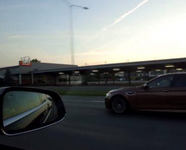 Corrida Entre Tesla X P90D e BMW M5 F10 Termina Com Vencedor Improvável 6