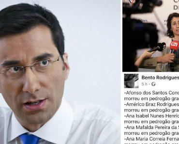 Bento Rodrigues Arrasa Ministra Com Nomes Das Vítimas Dos Incêndios 9