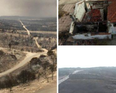 Imagens Aéreas Mostram a Destruição Provocada Pelos Incêndios 4