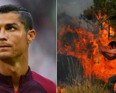 Cristiano Ronaldo Pagou Cuidados Médicos Aos 370 Feridos Nos Incêndios 4