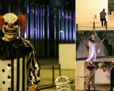 """Palhaço Assassino De """"IT: A Coisa"""" Tenta Espalhar Terror No Parque Das Nações Em Lisboa 2"""
